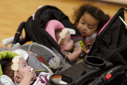 Twins Savannah and Scarlett were recently released from UF Health Shands Children's Hospital.