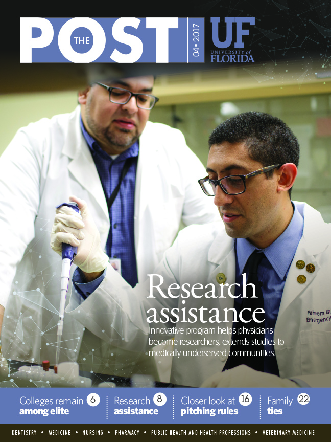 Cover for April 2017 Issue